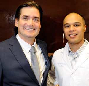 Melvin Rabena, research director for the California Retina Research Foundation, right, will be joining Dr. Dante Pieramici on the latest Surgical Eye Expeditions (SEE) International mission to Honduras.