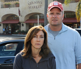 Ellen and John Hunter say they were shaken by what they witnessed.