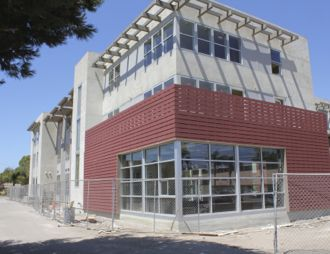 With the help of federal tax credits and Section 8 housing assistance, Pescadero Lofts residents will be ale to rent units for between $400 and $600 a month. (Joshua Molina / Noozhawk photo)