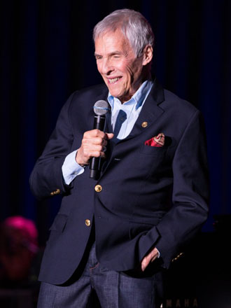A medley of Burt Bacharach's contributions to motion pictures included the entertainer himself on lead vocals. (Dwight McCann photo / Chumash Casino Resort)