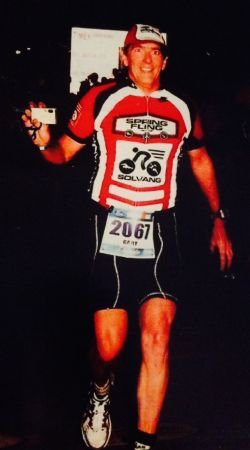 Gary Holmes had competed in hundreds of triathlons and Ironman events, and was a fixture at Solvang Triathlon Camps. (Holmes family photo)
