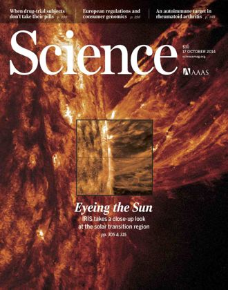 NASA's solar mission is featured in Science magazine.