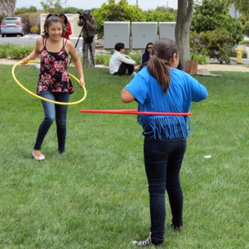 Picnic in the Park summer events now include physical activity components, in addition to the free lunches it provides children throughout Santa Barbara County. (Gina Potthoff / Noozhawk photo)