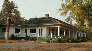 The Bishop Ranch headquarters, like the property itself, has been largely abandoned for decades. (Sonia Fernandez / Noozhawk file photo)