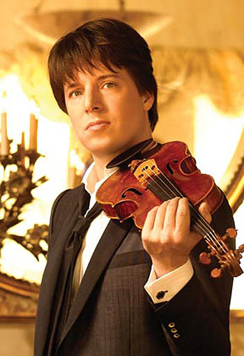 Joshua Bell has been hailed as 'the greatest American violinist active today.'