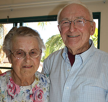 Jerrie and Mac Freeman moved into The Samarkand five years ago.