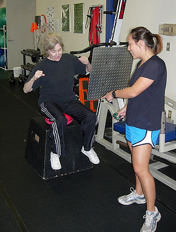 Through the use of standardized balance and fitness tests, Titan Fitness & Physical Therapy can help seniors identify risk factors for falling and develop preventative therapy strategies.