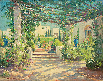 The Santa Barbara Historical Museum's latest exhibition features more than 30 works by Santa Barbara impressionist painter Colin Campbell Cooper.