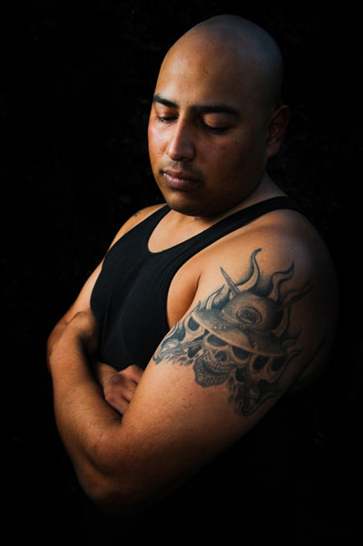 Victor Orta, Iraq War veteran. (Lara Cooper / Noozhawk photo)