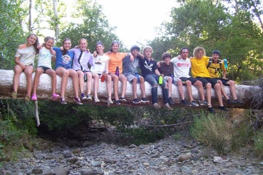 Connecting with a new community of friends is a goal of Camp Natoma. (Camp Natoma photo)