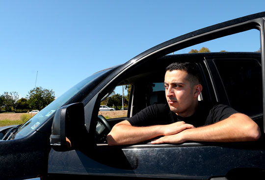 Theodore Disho, a disabled Iraq War combat veteran, had to pay fees and fines of nearly $1,000 to get his impounded car back. Although the UCSB senior had not been drinking, Santa Barbara County sheriff's deputies at a DUI checkpoint found that his driver's license had expired a few days before he was stopped. As a result, officers seized Disho's car in what he thinks is 'another way they can generate revenue for the state.'
