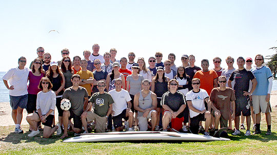 It's not all work for AppFolio's nearly 60 employees. The Goleta startup recently enjoyed a company picnic at Goleta Beach.