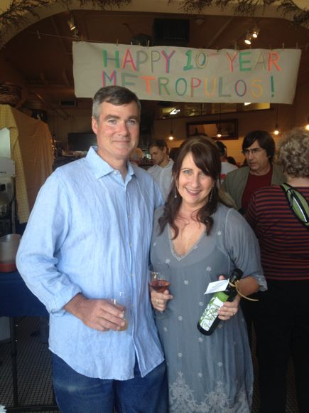Celebrating 10 years in business, Metropulos Fine Food Merchants owners Ann and Craig Addis have been part of Santa Barbara's Funk Zone since before there was a Funk Zone.