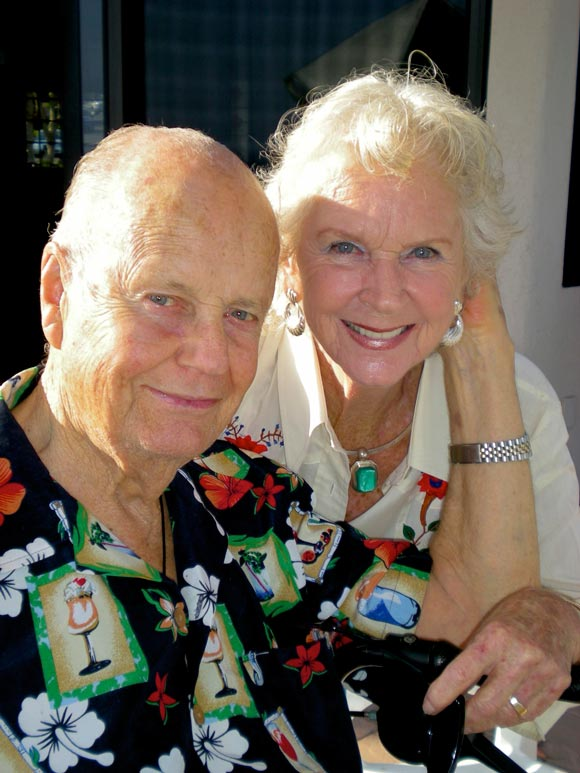 Kallman and his wife, Ruth, met when they were children at Roosevelt School in Santa Barbara, and were married for 65 years.