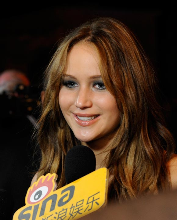 Actress Jennifer Lawrence.