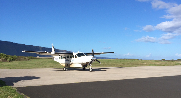 Transportation options are limited if you wish to visit Kalaupapa Peninsula, the former site of Molokaʻi's leper colony. (Frank McGinity photo)