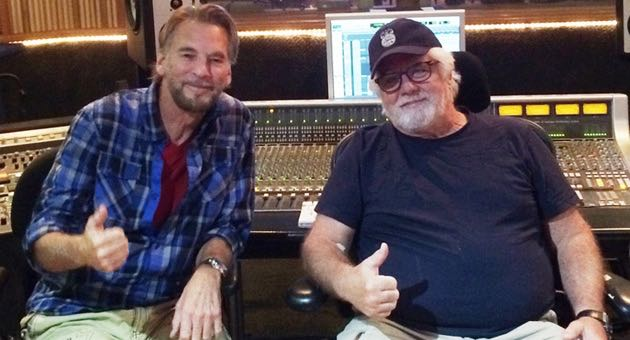 Local legends Kenny Loggins, left, and Michael McDonald were happy to lend their distinctive sounds to SOhO Restaurant & Music Club. (SOhO Restaurant & Music Club photo)