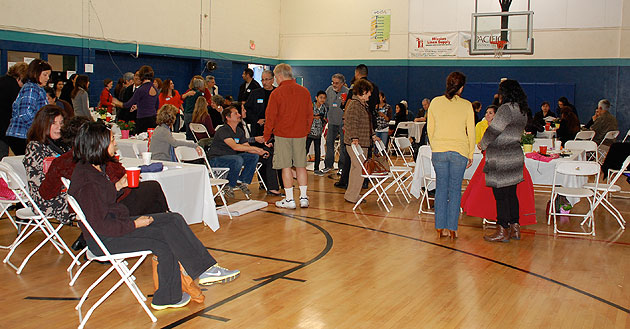 More than 200 people gathered at the Westside Boys & Girls Club for Saturday's wrap-up session of the THRIVE Westside and Let's Talk Westside projects.