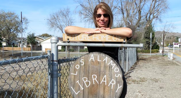 "<p>Retired Dunn School teacher Vickie Gill is helping spearhead the movement to open a community library in Los Alamos. ""Who's against a library?"" she asks. ""Los Alamos is an underserved area. Everybody in the community wants it to happen.""</p>"