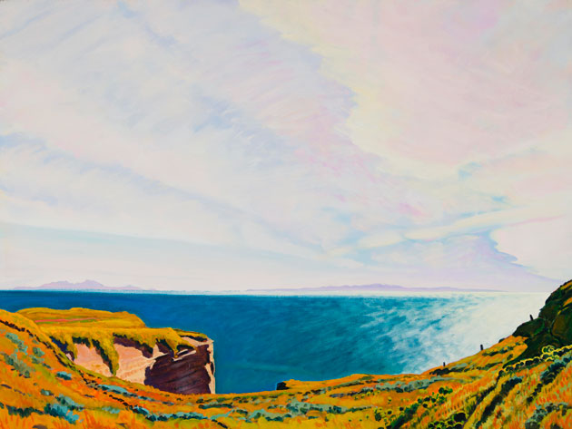 "<p>Plein-air painter Michael Drury is masterful with landscapes but he prefers not to depict Santa Barbara in his work. ""It's too genteel,"" he explains. ""I like places that stick out in the open a little bit."" The Central Coast is more to his liking, he says.</p>"