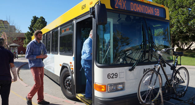 <p>The Santa Barbara Metropolitan Transit District is planning to extend the hours of its 24x bus line between downtown and UC Santa Barbara, as well as its 12x line to Goleta. UCSB students make up almost half of the 24x ridership.</p>