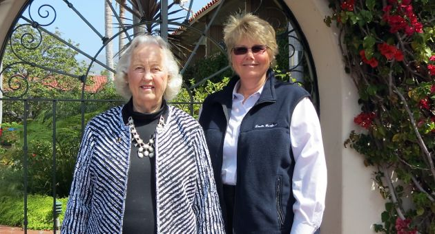 <p>Jeanette Webber, right, and her mother, Pam Webber, manage five hotels in Santa Barbara, including the Best Western Pepper Tree Inn on Upper State Street. The elder Webber has been in the hospitality business nearly 60 years, and was the first woman to join the Santa Barbara Region Chamber of Commerce.</p>