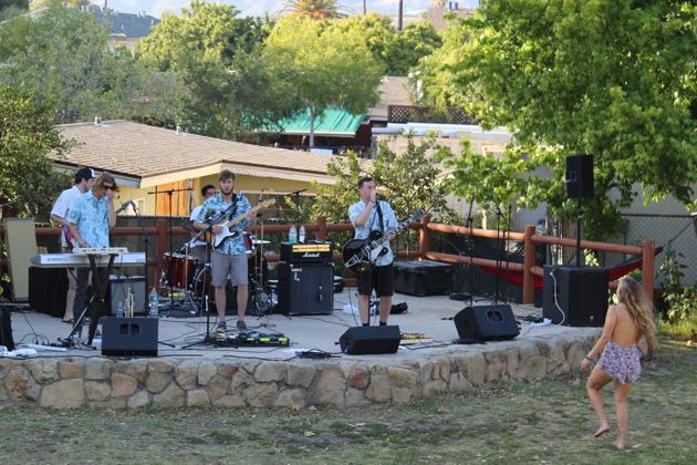 The Olés were among the local bands entertaining the crowd at Saturday's Chilla Vista x Earth Day festival at Anisq'Oyo' Park in Isla Vista.