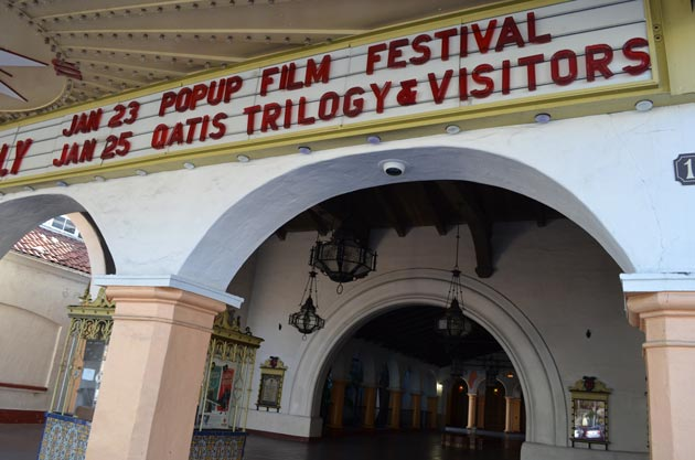 The inaugural Jan. 23 Popup Film Festival at Santa Barbara's Arlington Theatre includes a full day — and night — of seven local documentaries along with a free concert. (Giana Magnoli / Noozhawk photo)