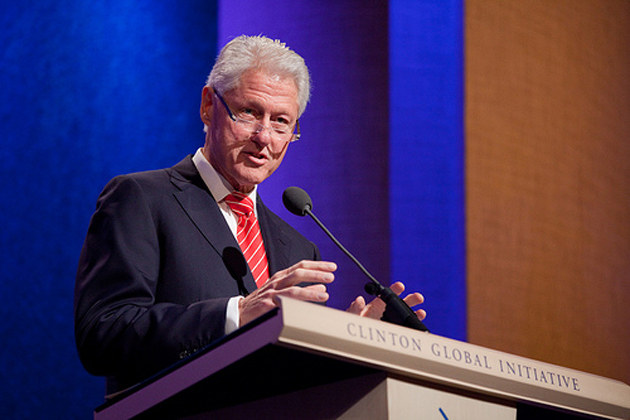 Former President Bill Clinton, founder of the Clinton Global Initiative, has been working to promote STEM — science, technology, engineering and math — education as a way for America to keep pace in the global technology race.