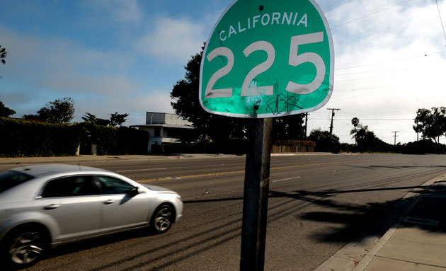 The city of Santa Barbara has completed some safety improvements on Highway 225 on the Mesa but would need to purchase the state-owned roadway if it wants to do more.