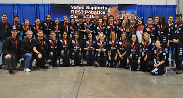 With a second-place finish at the FIRST Robotics Regional Championship in Las Vegas behind them, Team 1717 is setting its sights on the FIRST Robotics World Championships later this month in St. Louis.