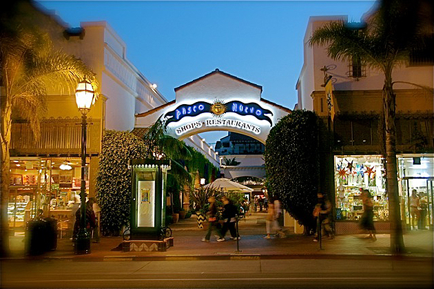 To complete Paseo Nuevo in the late 1980s, Santa Barbara's Redevelopment Agency spent $42 million to acquire the land, compensate three dozen affected businesses, demolish existing buildings, relocate utilities and build two parking structures.
