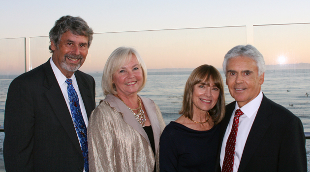 <p>From left, Mike Gorodezky with 2011 Health Care Heroes recipients Eileen Bunning and Dr. James Tamborello, and his wife, Joyce.</p>