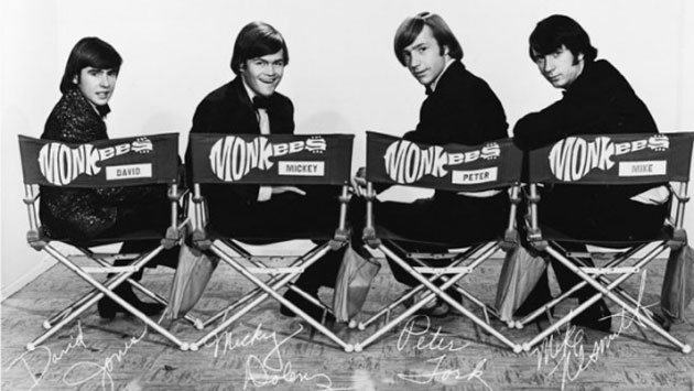Davy Jones — at left, with fellow Monkees Micky Dolenz, Peter Tork and Michael Nesmith — died of a heart attack on Feb. 29. He was 66.