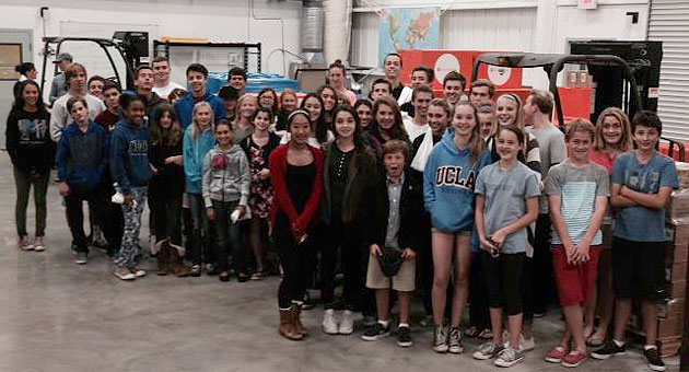 For a mere $100 donation, student ambassadors from Youth4DirectRelief will deliver four weekly bouquets of Gerbera daisies. The cause benefits Direct Relief programs locally and around the world. (Youth4DirectRelief photo)