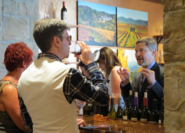 A Foley Family Wines tasting room is a new addition to Bacara Resort & Spa. (Gina Potthoff / Noozhawk photo)