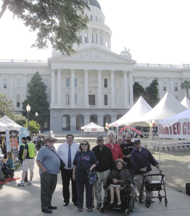 Family Motors Bakersfield >> A contingent from the Independent Living Resource Center ...