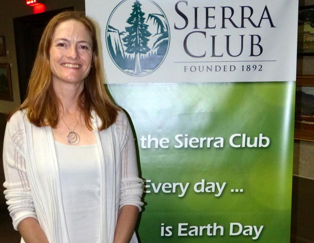 <p>Katie Davis led a &#8220;Climate Reality&#8221; discussion for the Sierra Club at the Santa Barbara Public Library.&nbsp; <a href=