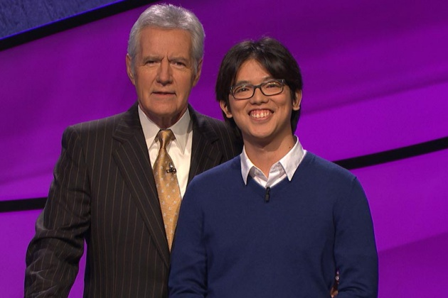 For six days, Alan Lin of Santa Barbara got to hang out with 'JEOPARDY!' host Alex Trebek. ('JEOPARDY!' photo)