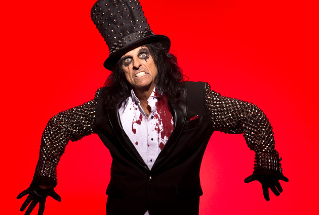 <p>Alice Cooper, the Godfather of Shock Rock, will be performing at the Chumash Casino Resort on Thursday night. Come if you dare!</p>