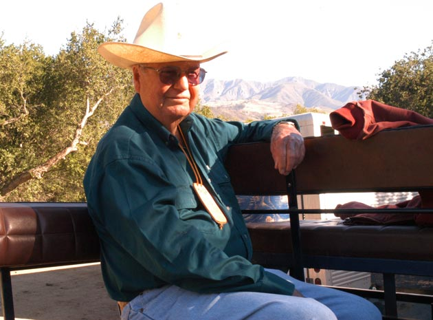 A true cowboy at heart, Kallman was a member of the Ranchero Vistadores riding group and Los Rancheros Pobres.