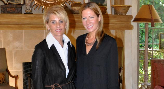 Teri Walker Lebow, left, and associate designer Caitlin Zeitsoff of Teri Walker Design Inc. Among the interior design firm's portfolio are a number of impressive projects from Los Angeles to Montecito, Santa Ynez to Sun Valley, even to a beachfront home in Mexico with acclaimed architect Enrique Zozaya.