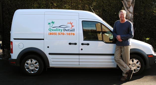 <p>Gene Wanek of Quality Wash &amp; Detail started his business in 2000 and recently expanded it to include an eco-friendly car-care service.</p>