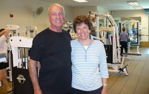 Marian and George Silva are regulars at the Stuart C. Gildred Family YMCA in Santa Ynez. In their 70s, the Silvas are big believers in group exercise classes and say the relationships can help seniors stay young.