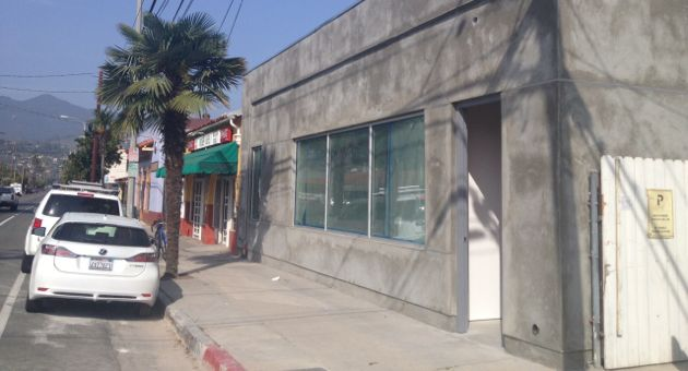 <p>The Mill project, under construction in the 400 block of East Haley Street, is expected to transform the corner of Haley and Laguna streets.</p>