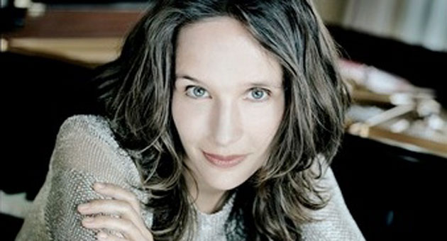 The dazzling pianist Hélène Grimaud will play Brahms in two weekend performances with the Santa Barbara Symphony. (www.helenegrimaud.com photo)