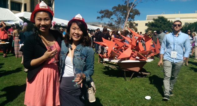 The All-Gaucho Reunion welcomed current students as well as alumni. (Kathy Tran / Noozhawk photo)