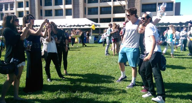 <p>The Taste of UCSB was the centerpiece of Saturday's lineup at the UC Santa Barbara Alumni Association's All-Gaucho Reunion. The event sponsored by Montecito Bank &amp; Trust gave alumni and friends a chance to catch up ... with plenty of food and drink, as well.</p>