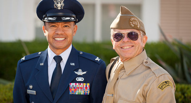 <p>Those who wore America&#8217;s military uniforms donned them again to participate in Santa Barbara&#8217;s annual Veterans Day parade Sunday.</p>
