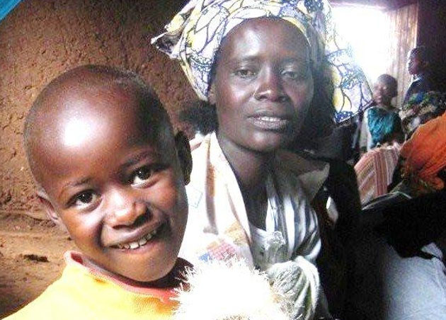 Mother and daughter Josephine and Josianne Mukamana live in a Rwanda cooperative called IZIRKANE, which means